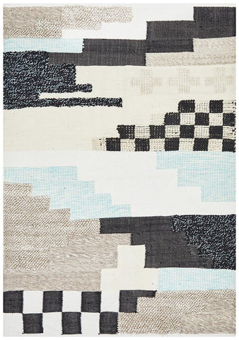 Ambar Cross Multi Colour Rug