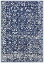 Aurora Boho Navy Transitional Rug