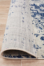 Aurora Horizon White Navy Transitional Rug