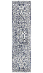Aurora Frost Blue Transitional Rug