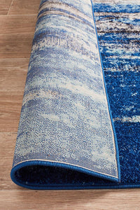 Aurora Transpose Blue Transitional Rug