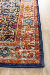 Aurora Splash Multi Transitional Runner Rug