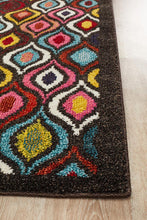 Summer Modern Multi Colour Runner Rug