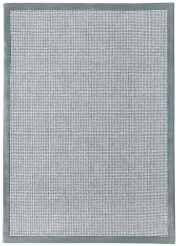 Veeraa Idina Aqua Grey Hand Tufted Wool rug