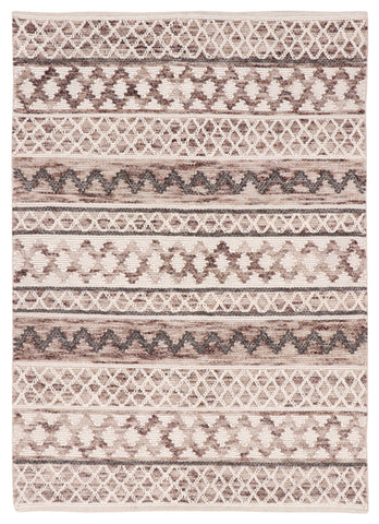 Veeraa Omen Natural Woven Wool Beige, Ivory Natural Rug