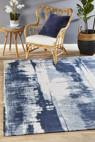 Jacaranda Denim Blue Rug