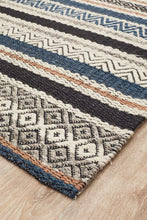 Luna Swing Denim Rug