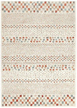 Oxford Mayfair Squares Bone Rug