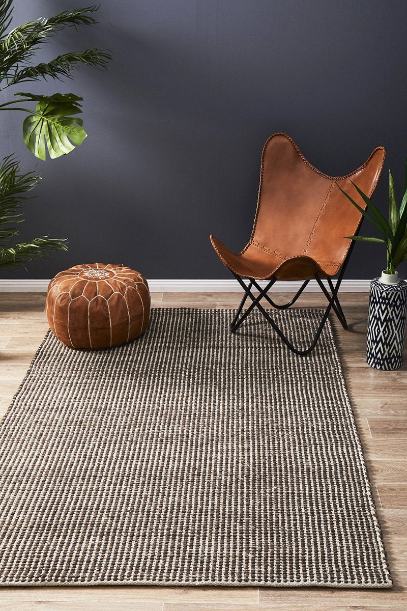 Scandi North Brown Rug