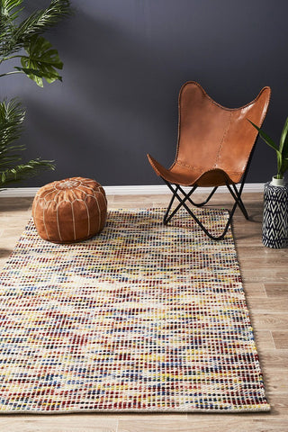 Scandi North Multi Colour Rug