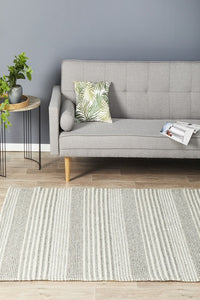 Scandi North Silver Rug