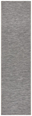Paris Indoor Outdoor Grey Runner Rug