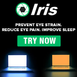Iris Blue-Blocking Screen Software