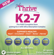 Load image into Gallery viewer, Just Thrive Vitamin K2-7-Matt Blackburn