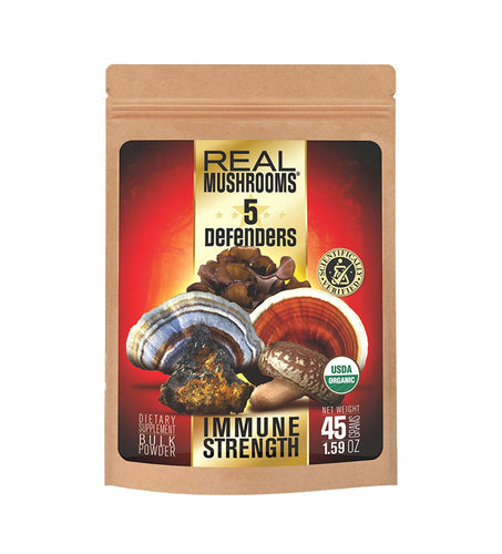Real Mushrooms 5 Defenders Immune Strength-Matt Blackburn