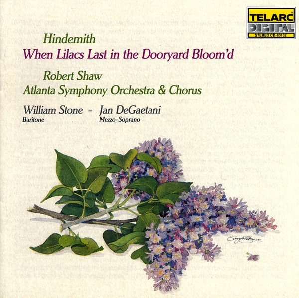 HIndemith: When Lilacs Last in the Dooryard Bloom'd