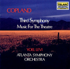 Copland: Third Symphony & Music for the Theatre
