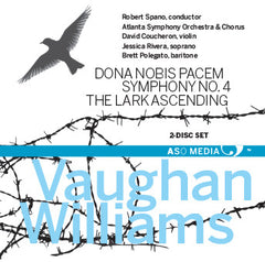 Vaughan Williams  Dona Nobis Pacem (2CDs)