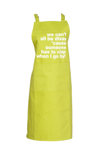 Apron We Can't All Be Divas Pear