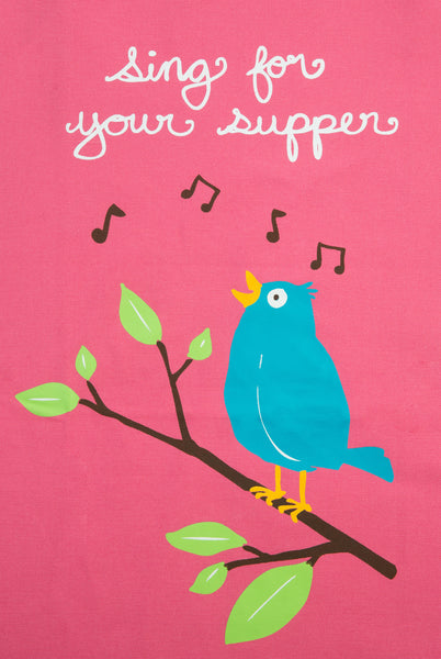 Apron Sing For Your Supper