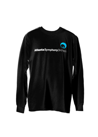 T-Shirt ASO Black Long Sleeve