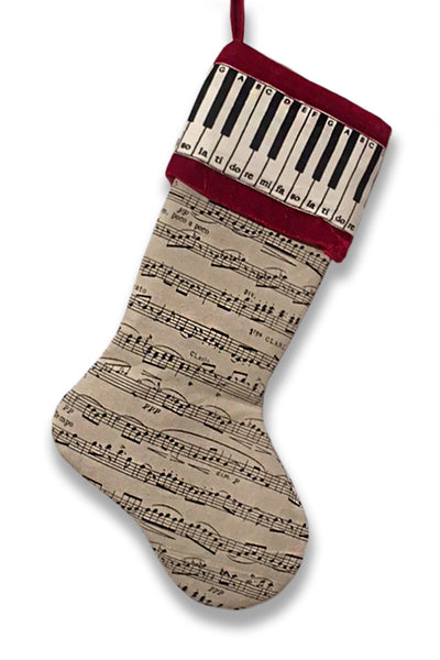 Holiday Stocking Music/Piano