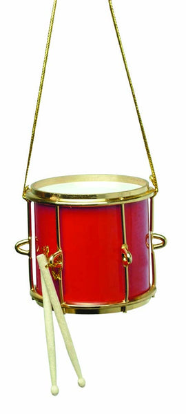 Red Marching Drum