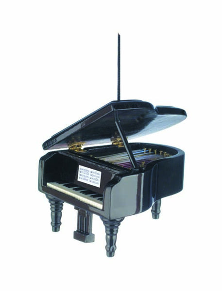 Black Grand Piano Ornament