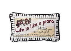 Pillow Life is like a piano