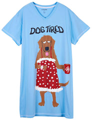Sleepshirt Dog Tired