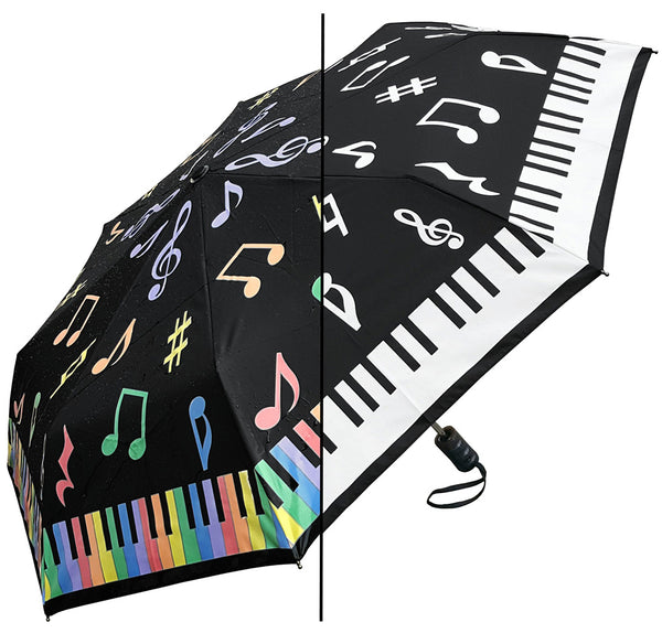Umbrella Piano Keys Changing