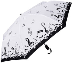Umbrella Mini Music Notes