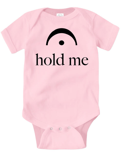 Infant Bodysuit Hold Me Pink
