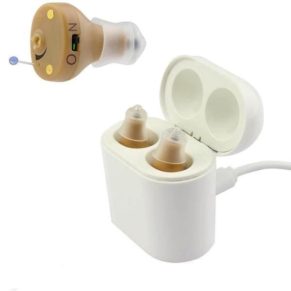 Invisible Rechargeable Hearing Aid|HearMega X2-No Test Needed