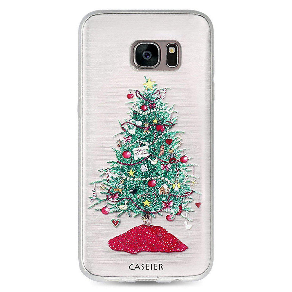 Frosted Holiday Samsung Phone Cases