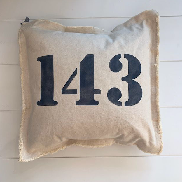 143 Square Pillow