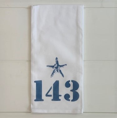 1-4-3 Tea Towel
