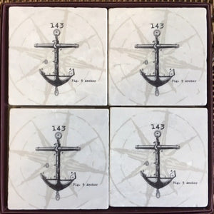 Coasters - 143 Anchor