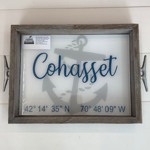 Cohasset Lat/Long Tray