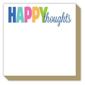 'Happy Thoughts' Notepad