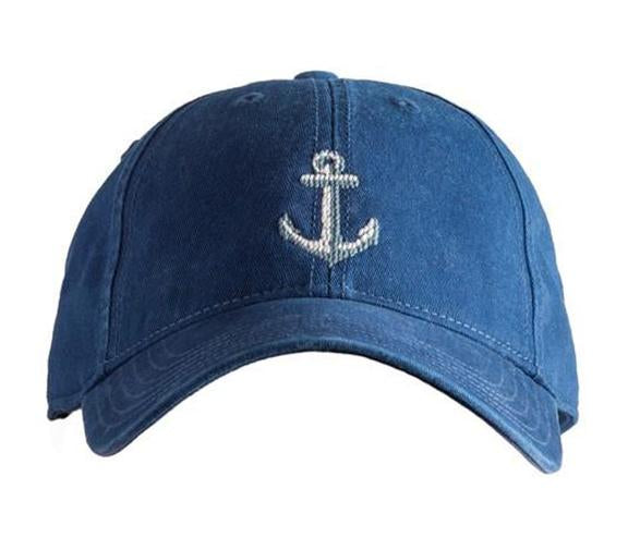 Embroidered Navy Anchor Hat