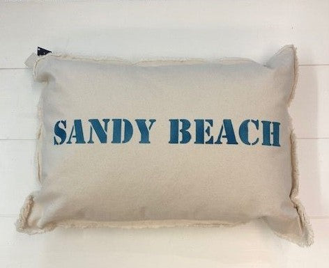 Sandy Beach Pillow
