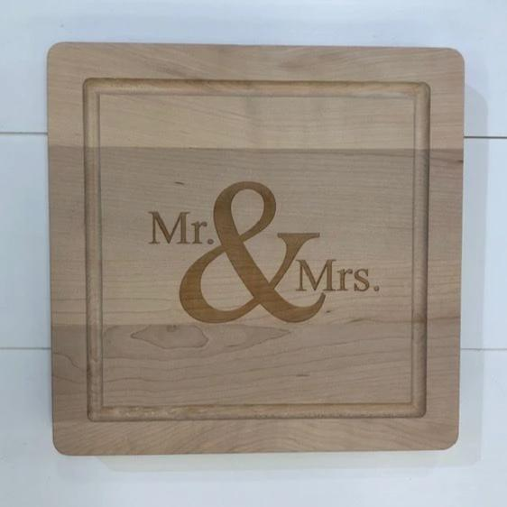 Mr & Mrs Square Board