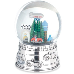 Race Car Water Globe