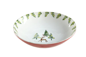 Trees Serving Bowl
