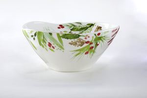 Winter Botanical Dip Bowl