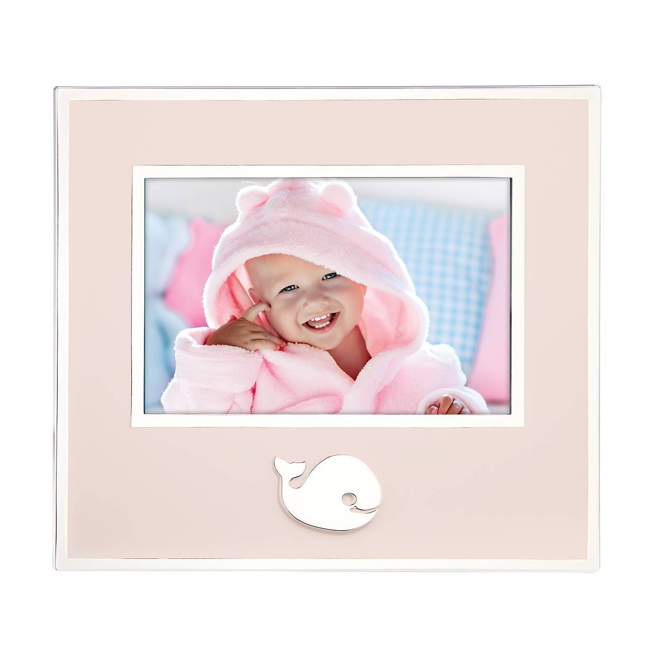 Whale Frame - Pink