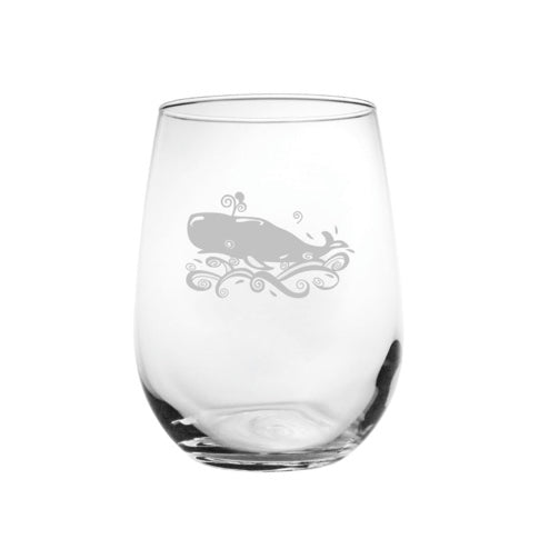 Stemless Wine - Whale