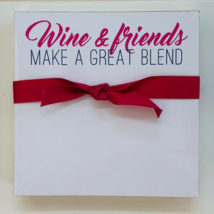 'Wine & Friends' Notepad