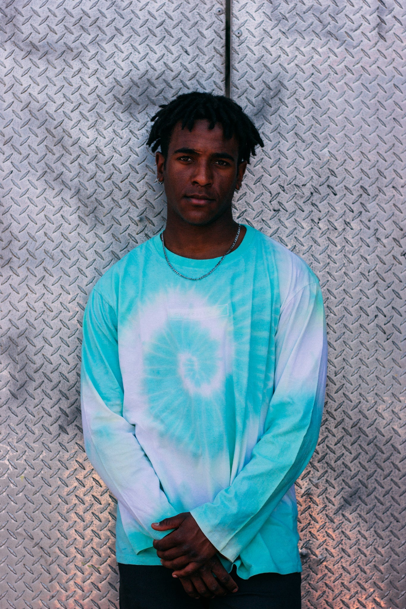 Long Green Tie-Dye tee